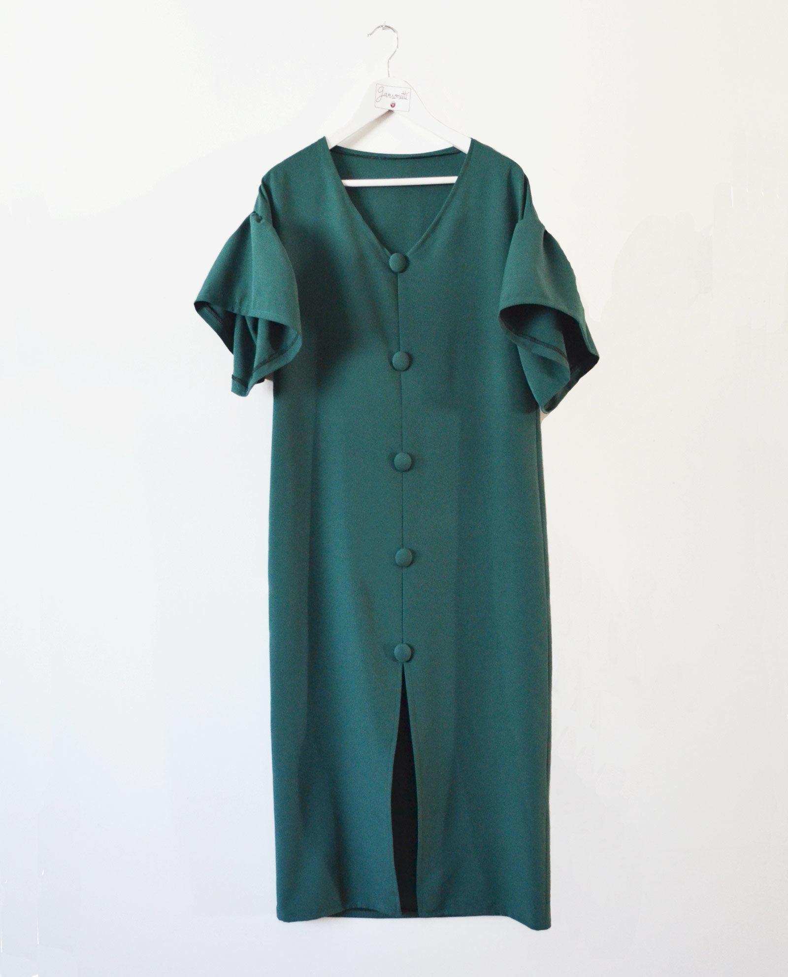 vestidomaxibotonverde