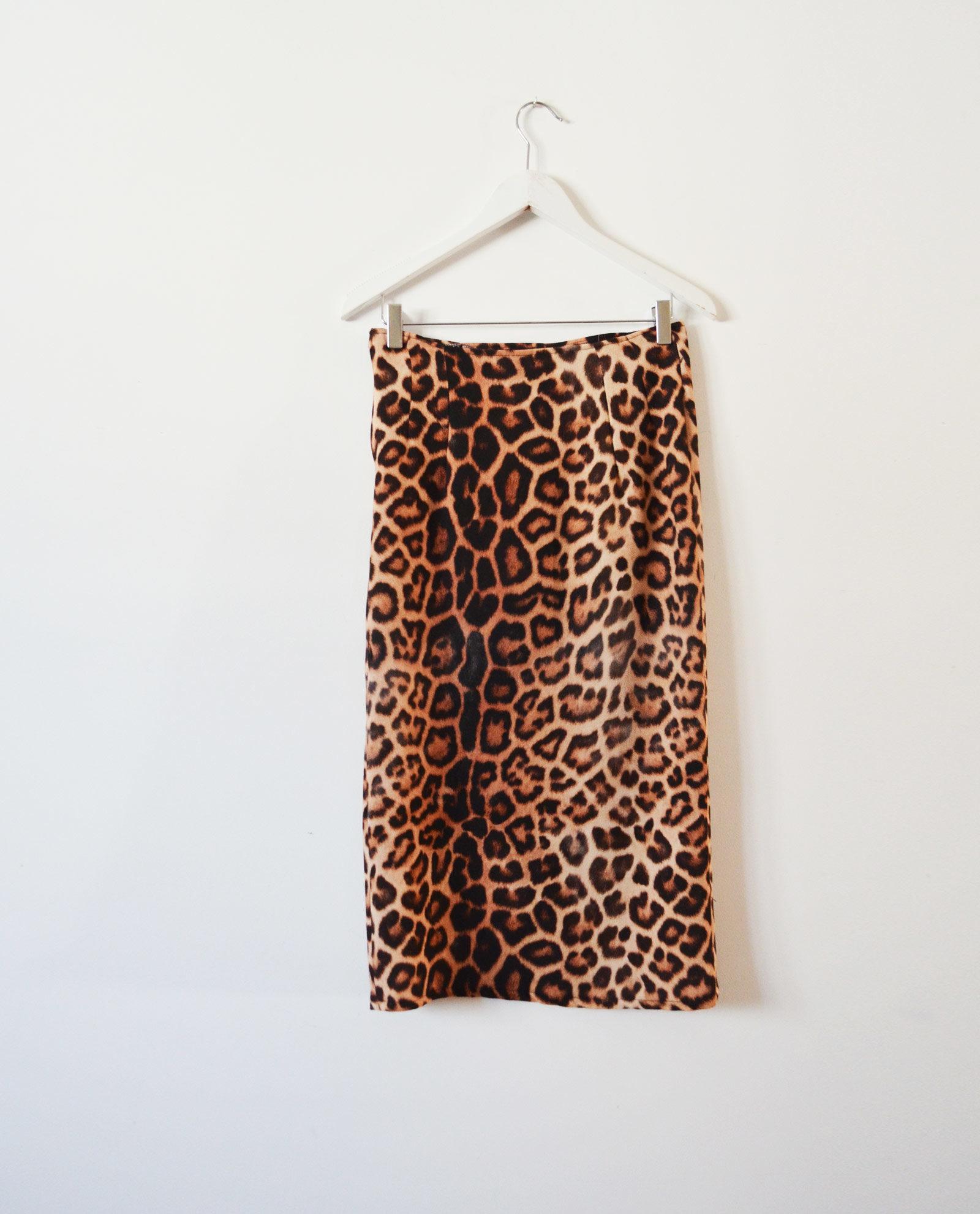 falda leopardo garsonetti