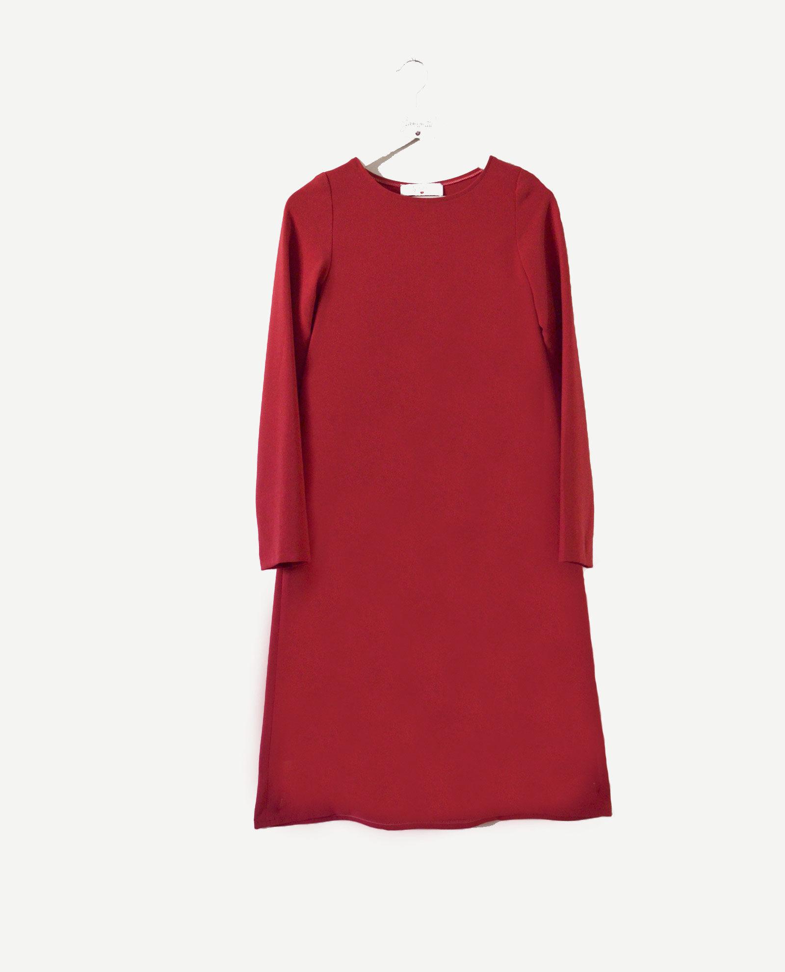 vestido-rojo-midi-